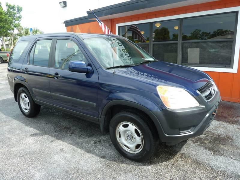 2003 Honda CR-V for sale at Victory Auto Group LLC in Stuart FL