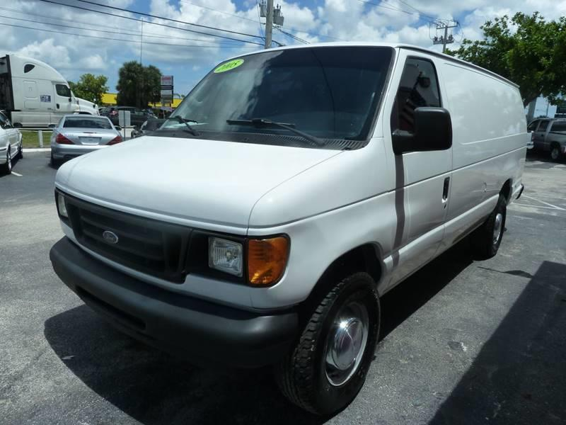 2005 Ford E-Series Cargo for sale at Victory Auto Group LLC in Stuart FL