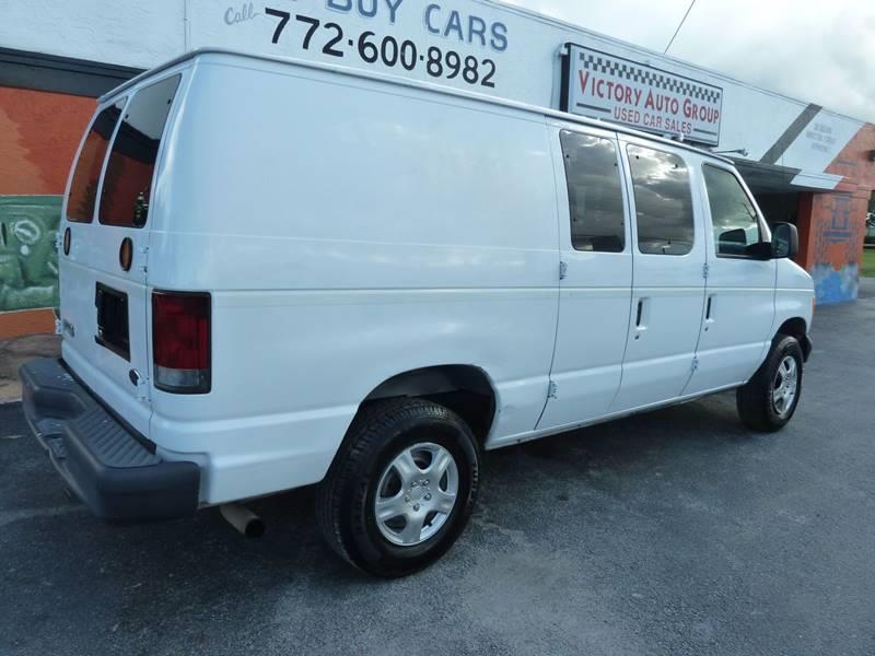 2007 Ford E-Series Cargo for sale at Victory Auto Group LLC in Stuart FL