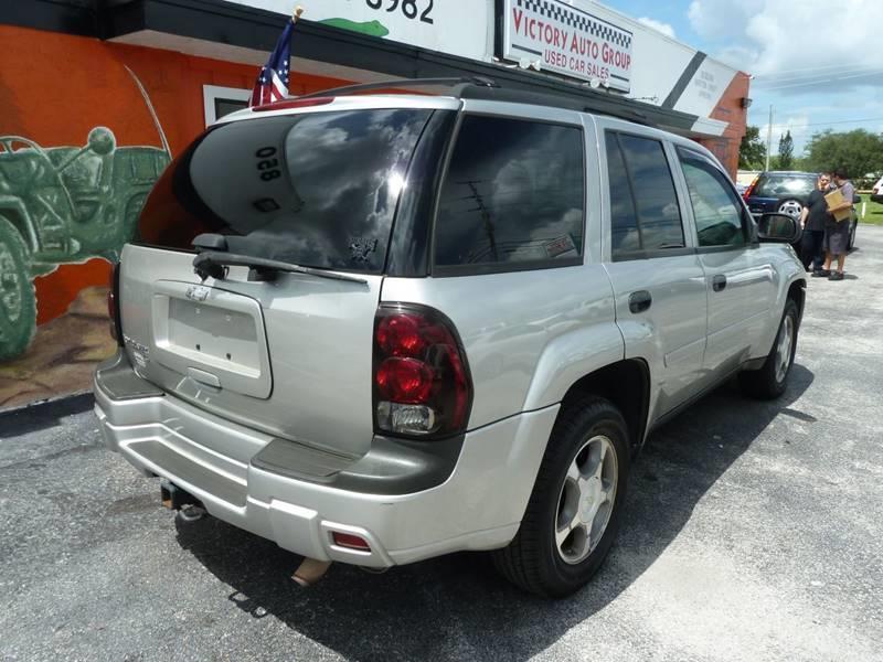 2007 Chevrolet TrailBlazer for sale at Victory Auto Group LLC in Stuart FL
