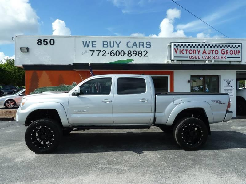2012 Toyota Tacoma for sale at Victory Auto Group LLC in Stuart FL