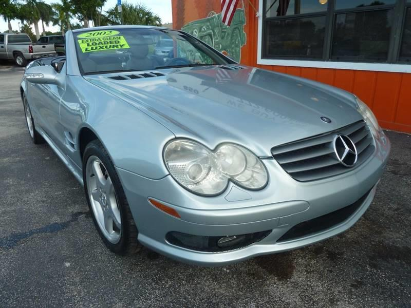 2003 Mercedes-Benz SL-Class for sale at Victory Auto Group LLC in Stuart FL