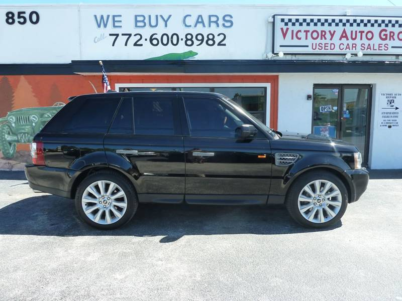 2007 Land Rover Range Rover Sport for sale at Victory Auto Group LLC in Stuart FL