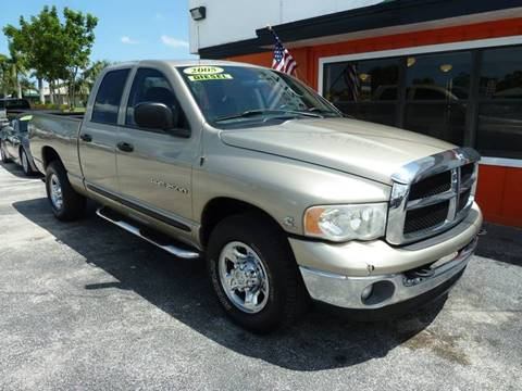 2005 Dodge Ram Pickup 2500 for sale at Victory Auto Group LLC in Stuart FL