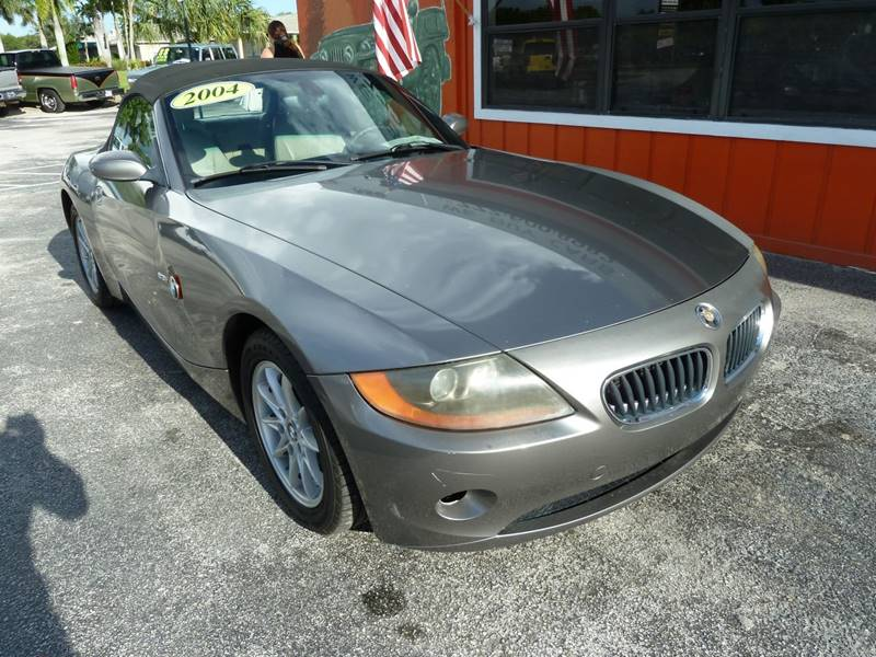2004 BMW Z4 for sale at Victory Auto Group LLC in Stuart FL
