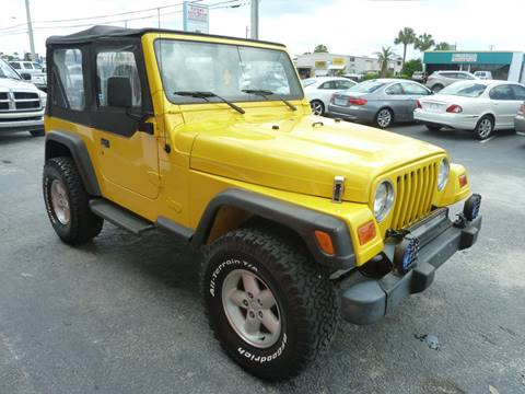 2000 Jeep Wrangler for sale at Victory Auto Group LLC in Stuart FL