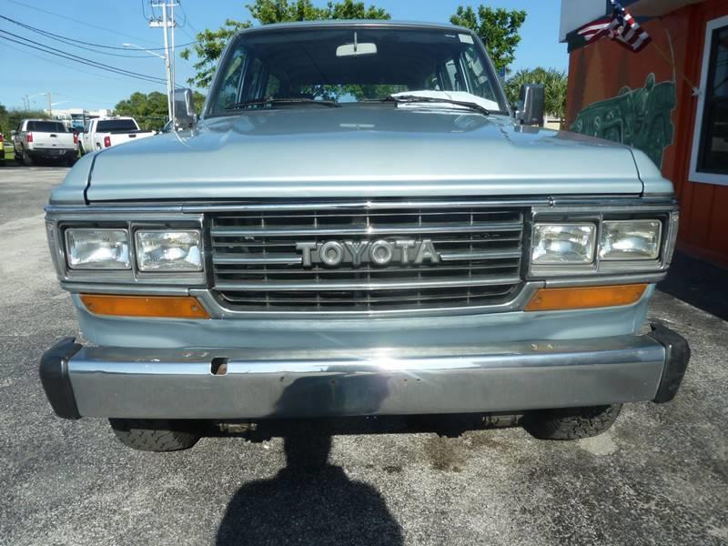 1988 Toyota Land Cruiser for sale at Victory Auto Group LLC in Stuart FL