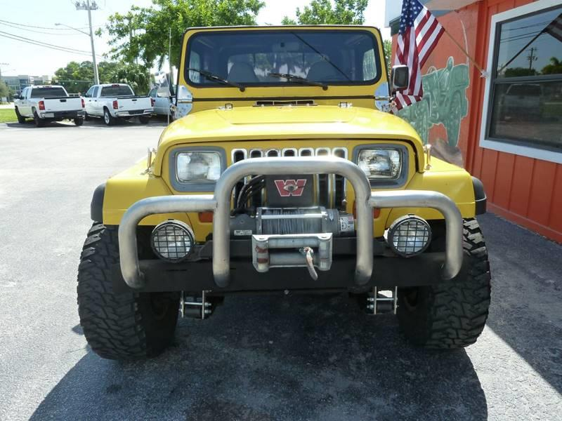 1989 Jeep Wrangler for sale at Victory Auto Group LLC in Stuart FL