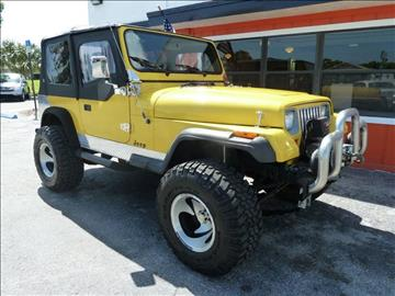 1989 Jeep Wrangler for sale in Stuart, FL