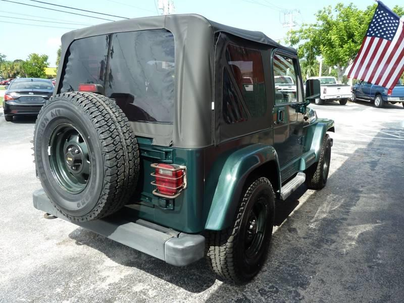 2002 Jeep Wrangler for sale at Victory Auto Group LLC in Stuart FL