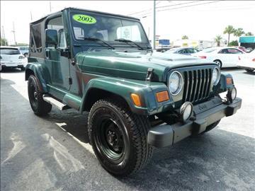 2002 Jeep Wrangler for sale in Stuart, FL