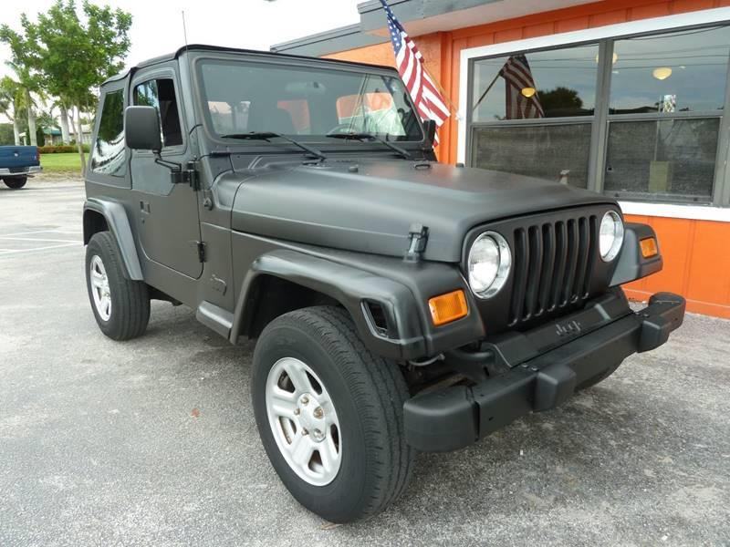 2001 Jeep Wrangler for sale at Victory Auto Group LLC in Stuart FL