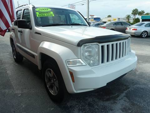 2008 Jeep Liberty for sale at Victory Auto Group LLC in Stuart FL