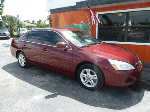 2006 Honda Accord for sale at Victory Auto Group LLC in Stuart FL