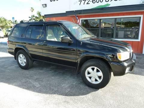2001 Nissan Pathfinder for sale in Stuart, FL