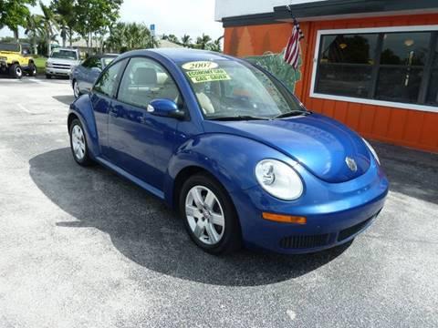 2007 Volkswagen New Beetle for sale in Stuart, FL