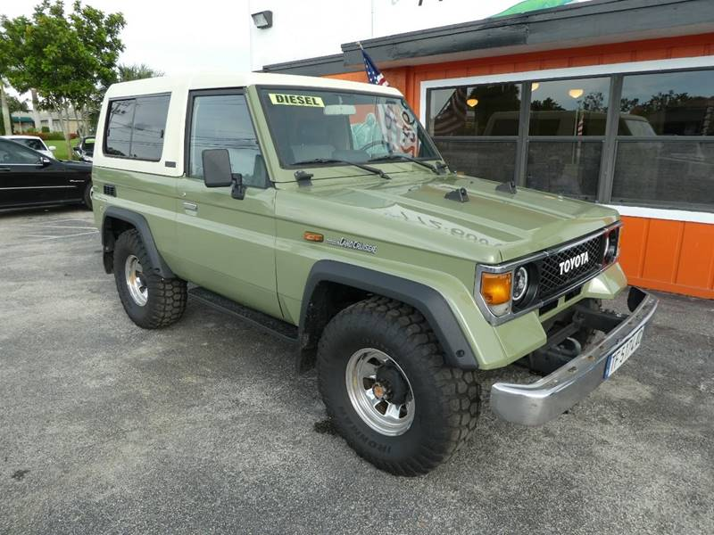 Amazing 1988 Toyota Land Cruiser For Sale At Victory Auto Group LLC In Stuart FL