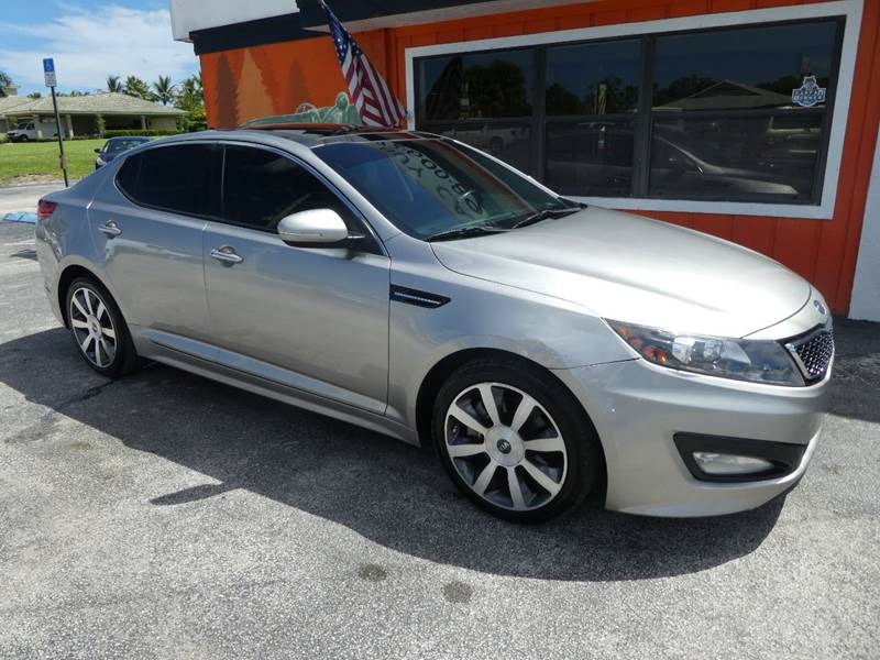2012 Kia Optima For Sale At Victory Auto Group LLC In Stuart FL