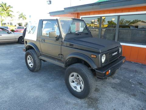 1991 Suzuki Samurai for sale in Stuart, FL