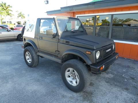 1991 Suzuki Samurai for sale in Stuart, FL