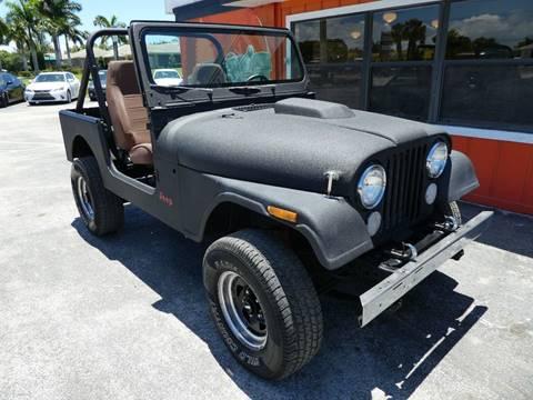 1981 Jeep CJ-7 for sale in Stuart, FL
