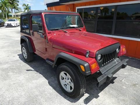 1999 Jeep Wrangler for sale in Stuart, FL