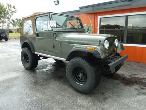 1985 Jeep CJ-7 for sale in Stuart, FL