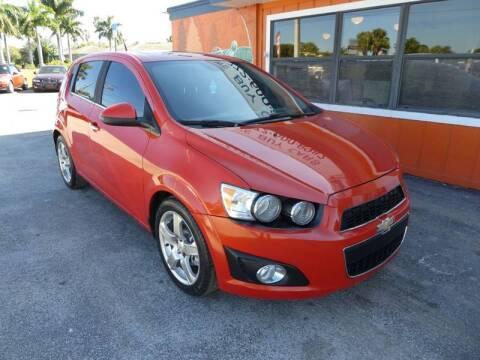 2012 Chevrolet Sonic LTZ for sale at Victory Auto Group LLC in Stuart FL