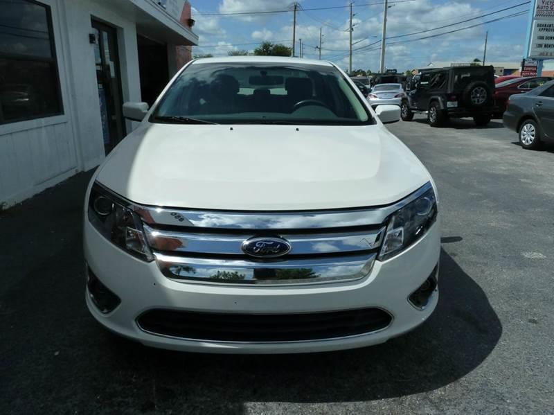 2012 Ford Fusion for sale at Victory Auto Group LLC in Stuart FL