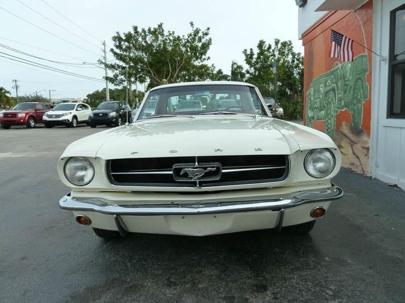 1965 Ford Mustang for sale at Victory Auto Group LLC in Stuart FL