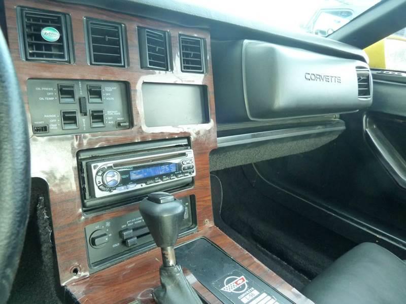 1986 Chevrolet Corvette for sale at Victory Auto Group LLC in Stuart FL