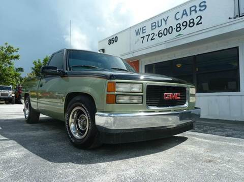 1994 GMC Sierra 1500 for sale at Victory Auto Group LLC in Stuart FL