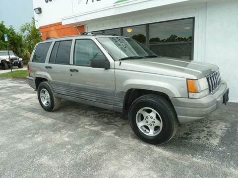 1998 Jeep Grand Cherokee for sale at Victory Auto Group LLC in Stuart FL
