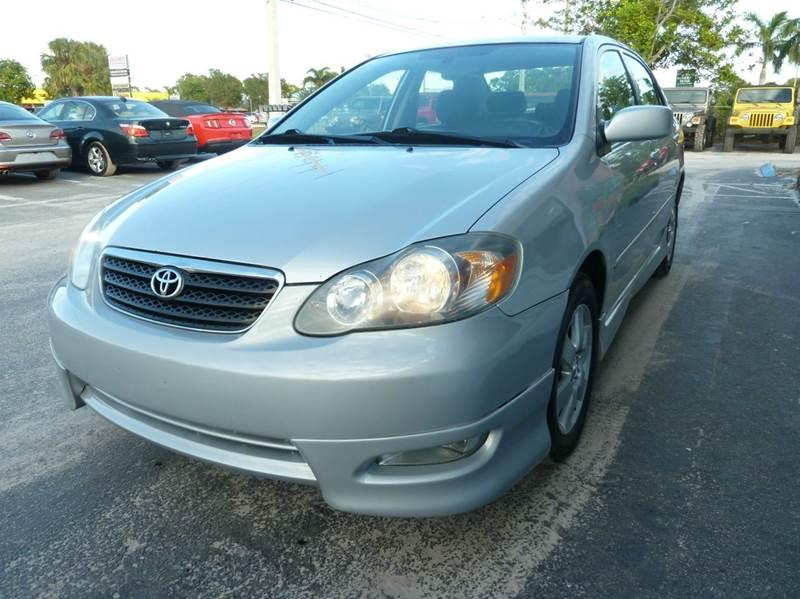 2005 Toyota Corolla for sale at Victory Auto Group LLC in Stuart FL