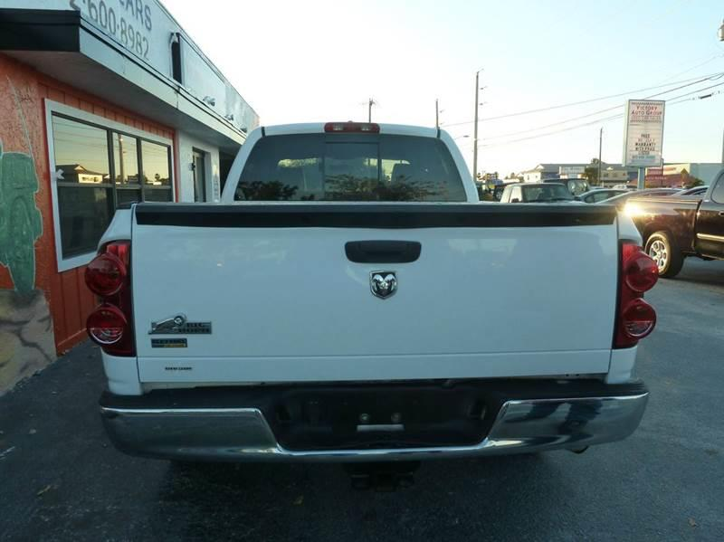 2008 Dodge Ram Pickup 1500 for sale at Victory Auto Group LLC in Stuart FL