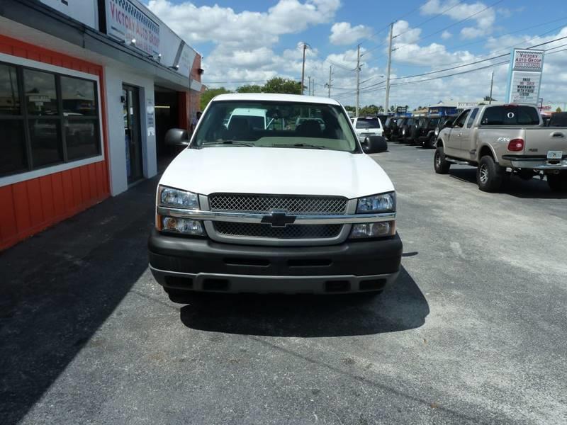 2005 Chevrolet Silverado 1500 for sale at Victory Auto Group LLC in Stuart FL
