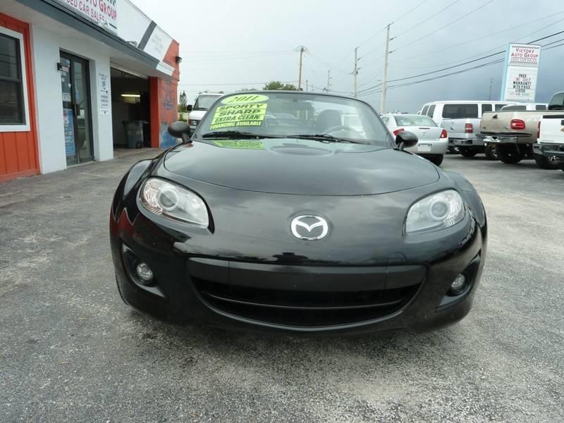 2011 Mazda MX-5 Miata for sale at Victory Auto Group LLC in Stuart FL