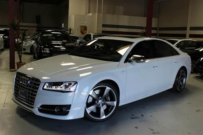 2016 Audi S8 plus 4.0T quattro AWD 4dr Sedan - San Mateo CA