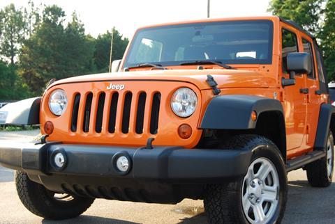2012 Jeep Wrangler Unlimited for sale in Alpharetta, GA