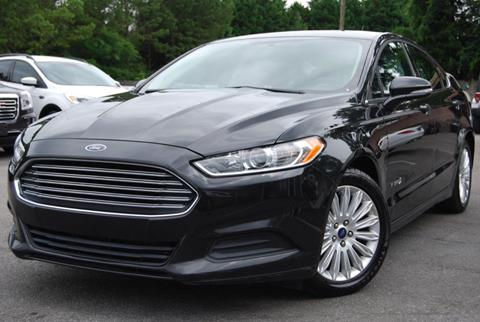 2015 Ford Fusion Hybrid for sale in Alpharetta, GA