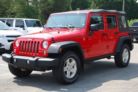 2015 Jeep Wrangler Unlimited for sale in Alpharetta, GA