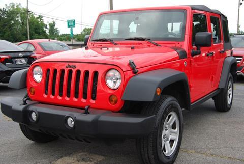 2013 Jeep Wrangler Unlimited for sale in Alpharetta, GA