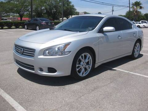 2014 Nissan Maxima for sale at T.S. IMPORTS INC in Houston TX