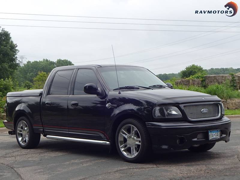 2001 ford f-150 4dr supercrew harley-davidson 2wd styleside sb in