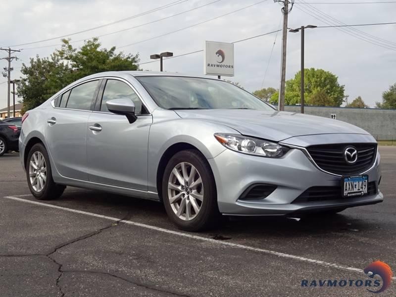 2016 Mazda Mazda6 I Sport 4dr Sedan 6a In Burnsville Mn Ravmotors