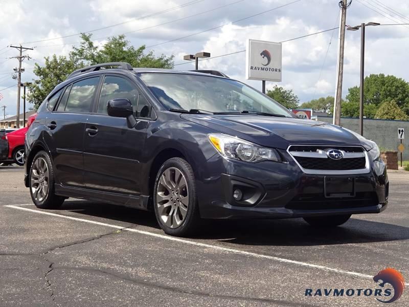 2013 Subaru Impreza Awd 20i Sport Premium 4dr Wagon Cvt In