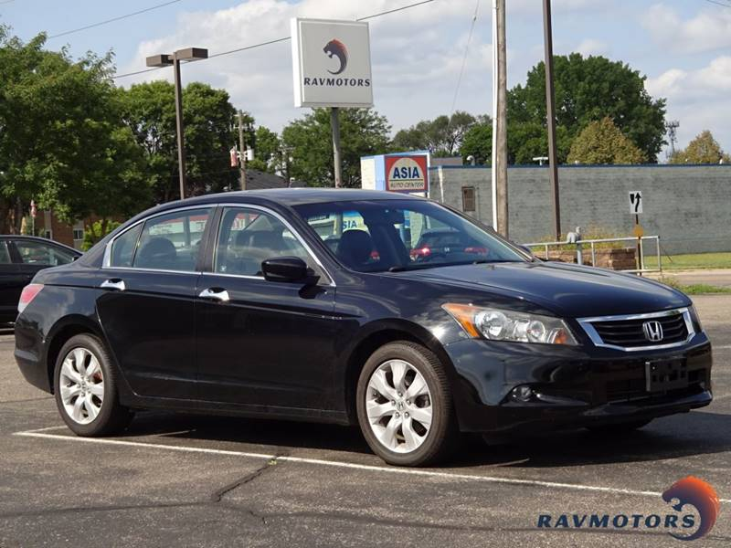 2010 Honda Accord EX L V6 4dr Sedan   Crystal MN