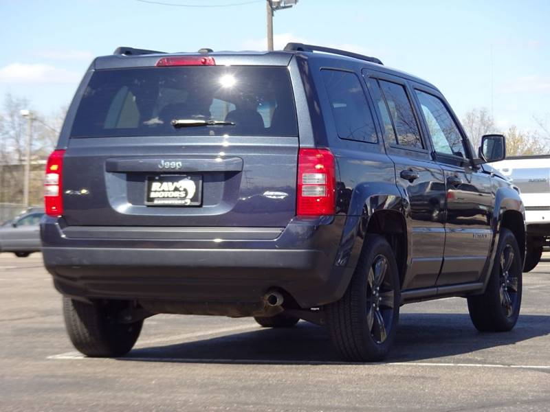 2015 Jeep Patriot 4x4 High Altitude Edition 4dr SUV In