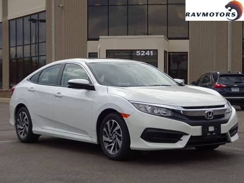 2017 Honda Civic for sale in Crystal, MN