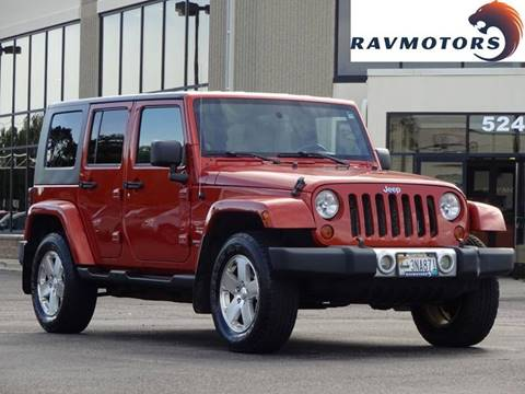 2009 Jeep Wrangler Unlimited for sale in Crystal, MN